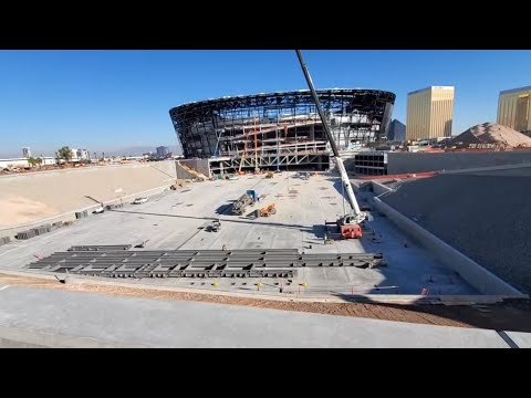 Delivering To The Raiders Stadium In Las Vegas Nevada... Bring On The Snow!!