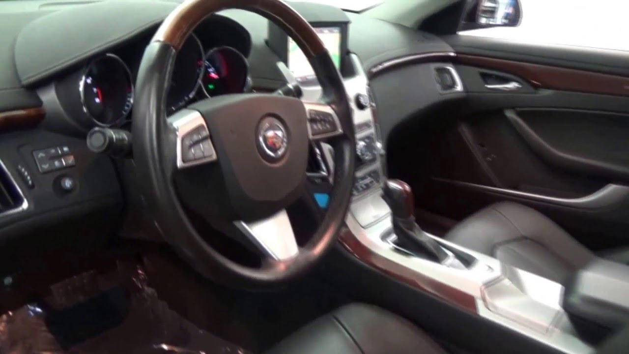 2009 Cadillac Cts 3 6 Black Cherry Over Ebony Presented By M I