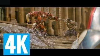 Hulk vs Veronica(Ironman Hulkbuster Armor) Part#2 Avengers Age of Ultron 2015 1080p BluRay