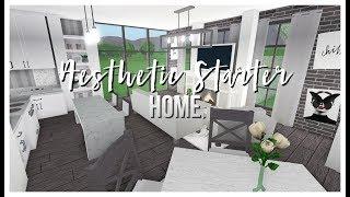 Roblox | Bloxburg | Aesthetic Starter Home