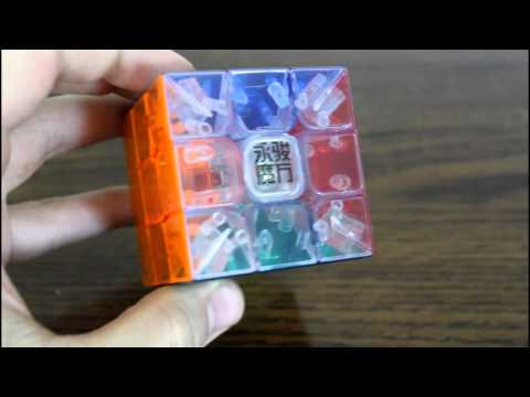 YJ Transparent Stickerless Yulong Review! {Cubes4Speed.com}