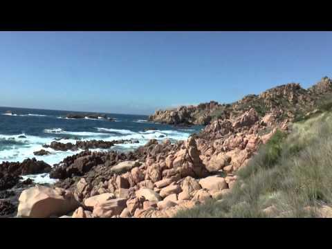 Costa Paradiso walk. Sardinia