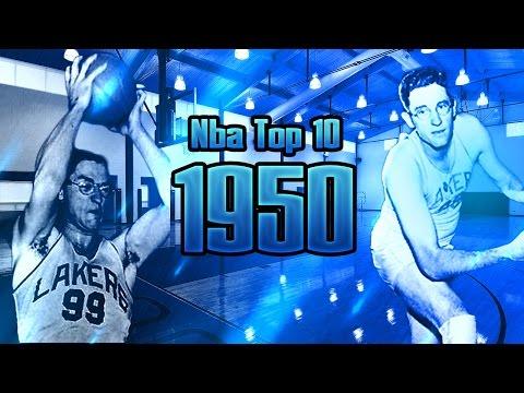 NBA Top 10 Players 1949-1950 Regular Season