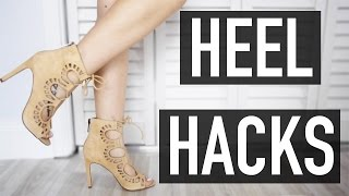 Heel Hacks Every Woman Should Know || JD STYLES