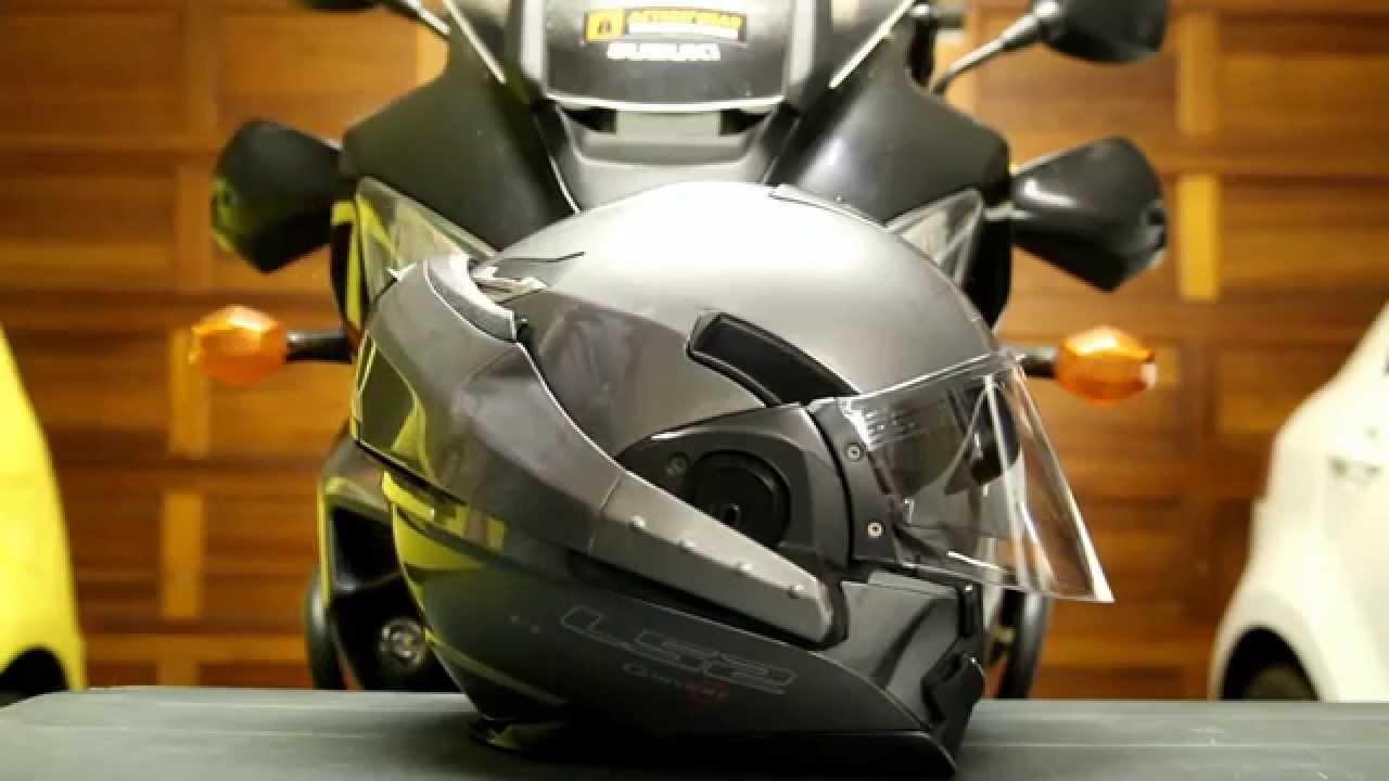 Update On My Ls2 Ff393 Convert Helmet Youtube