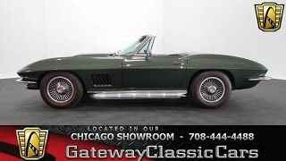 1967 Chevrolet Corvette Gateway Classic Cars Chicago #964