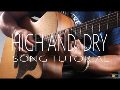 High & Dry  Radiohead Cover + Lyric + Chords
