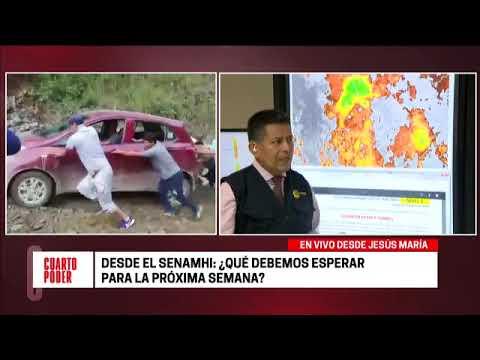 Cuarto Poder: Senamhi informa sobre lluvias que se registrarán en el ...