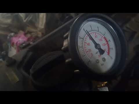G4NA маслофорсунки и замер давления