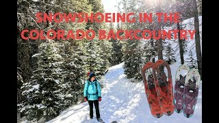 Snowshoeing In The Colorado Backcountry - Lost Lake