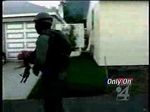 SWAT Team executes early morning raid