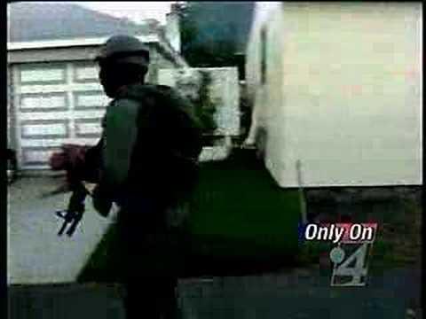 SWAT Team executes early morning raid