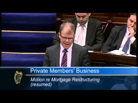 Peadar Tóibín on Mortgage Distress and Social Housing
