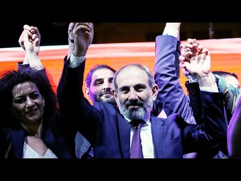 Пашинян — премьер Армении и беспорядки в Венгрии | НОВОСТИ