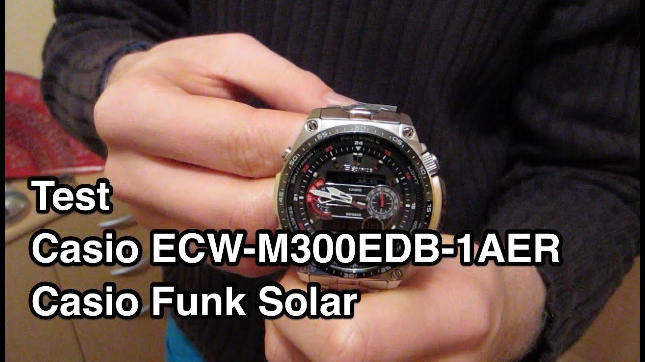 armbanduhr funk solar test