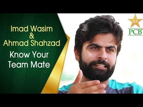 Know Your Teammate   Imad Wasim and Ahmed Shehzad   PCB