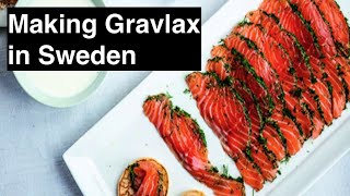 How to make gravlax