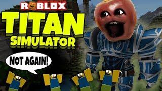 ROBLOX: Titan Simulator! [Midget Apple Plays]