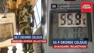Temperature Reaches 55.9 Degree Celcius At Shahgarh In Rajasthan