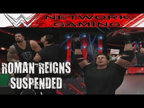 Roman Reigns WWE Suspension Wellness Policy Violation Vince McMahon Reaction