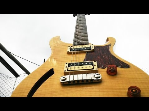 prs se custom 22 semi hollow body guitar shootout the guitar learner youtube. Black Bedroom Furniture Sets. Home Design Ideas