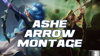 Ashe Arrow Montage - The Frost Queen S5