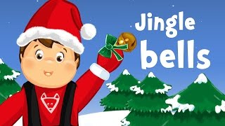 Jingle bells, Jingle bells, Jingle all the way! (christmas song for kids with lyrics)