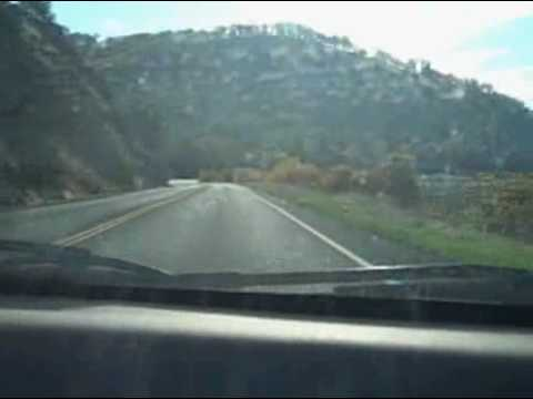 Driving on Highway 20 | Clearlake, CA