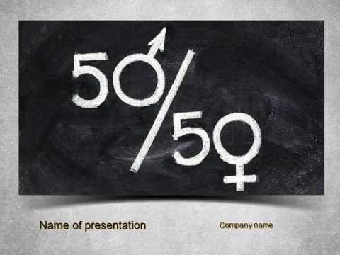 Gender equality powerpoint template youtube gender equality powerpoint template toneelgroepblik Image collections