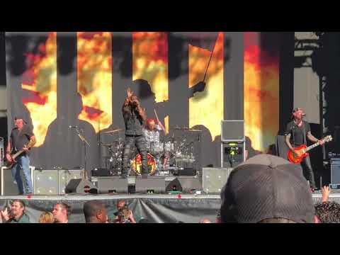 Sevendust at Aftershock Festival 2018