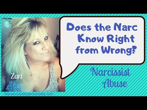 Do Narcissists Know Right From Wrong?