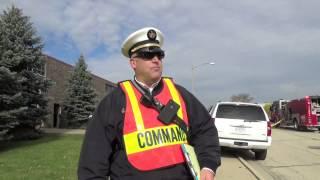 HAZMAT Response for Anhydrous Ammonia Leak