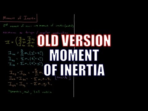 Computational Chemistry - Moment of Inertia (Old Version)