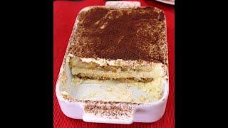 ТИРАМИСУ самый популярный итальянский торт без выпечки Крем без яиц Tiramisu no eggs in cream