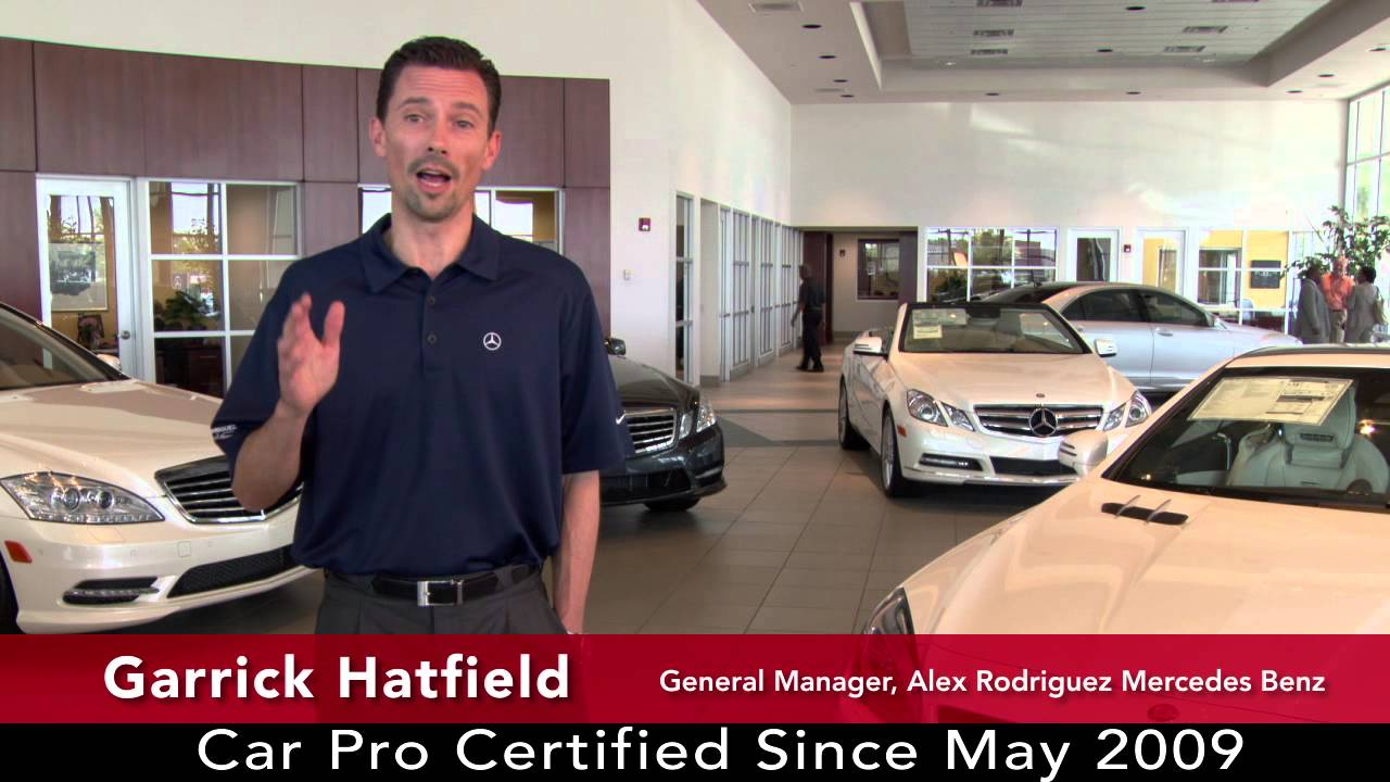 Car Pro Testimonal Garrick Hatfield Alex Rodriguez