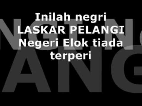 Meda-OST EDENSOR-Negeri Laskar Pelangi (lyrics)