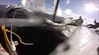 Catamaran Hydrofoil test - Mystere Composites