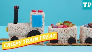 Train party: How to make a rice crispy train treat | Eats + Treats