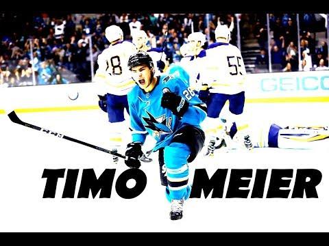 Timo Meier - All Goals 2017-18 (21)