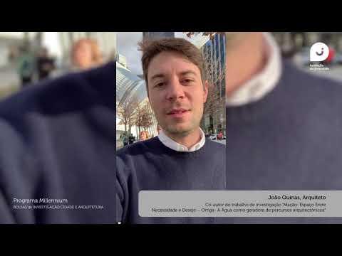 Bolsas de Investigação Cidade e Arquitetura - Testemunho João Quinas