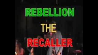 "Dancehall Explosion presents Rebellion The Recaller in Kavka - Antwerp : ""We Must Rebel"""