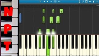 Sigma - Nobody To Love Piano Tutorial - How To Play - Synthesia
