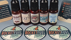 Rocket Fuel Vapes: E-Liquid Review pt.1