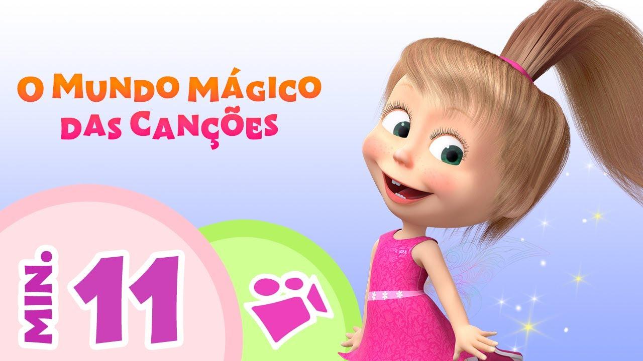 TaDaBoom Português 🌟 O MUNDO MAGICO DAS CANÇÓES 🌟  Coleção de canções 🎵 Masha e o Urso