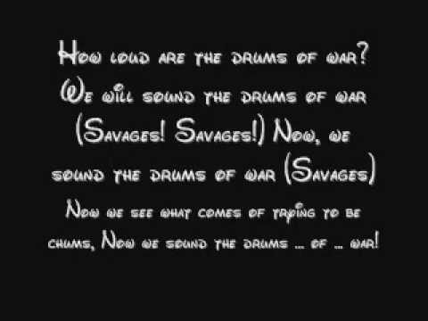 Savages (Both) - Pocahontas Lyrics