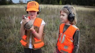 Pheasant Hunting with Jake the Three Legged Dog at Bear Creek Pheasant Farm