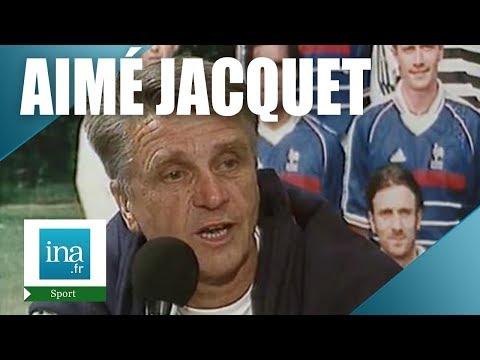 """France 98 Aimé JACQUET """"C'est la plus belle journée, la plus forte"""" - Archive vidéo INA"""