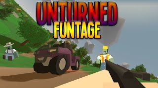 Unturned Funny Moments with Friends (Van Wheelies, Ninja Mission and More)