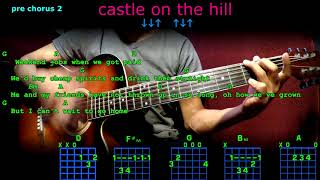 castle on the hill ed sheeran guitar cover lesson