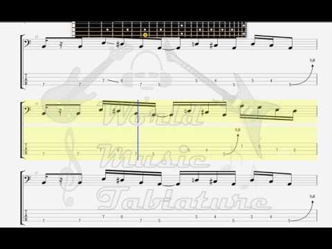 Dizzy Mizz Lizzy Love Me A Little BASS GUITAR TAB